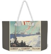Convoy Your Country To Victory Weekender Tote Bag