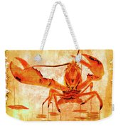Cooked Lobster On Parchment Paper Weekender Tote Bag
