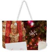 Cookies And Milk For Santa Weekender Tote Bag