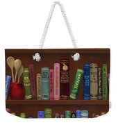 Cookin' The Books Weekender Tote Bag