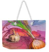 Cooking In Spain Weekender Tote Bag
