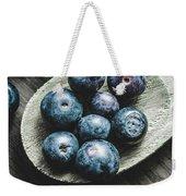 Cooking With Blueberries Weekender Tote Bag
