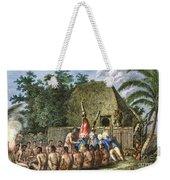 Cook:sandwich Islands 1779 Weekender Tote Bag