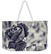 Cool Black Rose Weekender Tote Bag