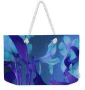 Cool Blue Lilies Weekender Tote Bag