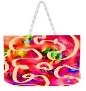 Cool Colors Weekender Tote Bag