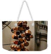 Cool Copper Pots - Parisian Restaurant Left Bank La Rive Gauche Weekender Tote Bag