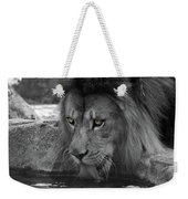 Cool Drink Of Water  Black And White  T O C Weekender Tote Bag