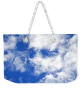 Cool Face In The Blue Sky Weekender Tote Bag