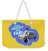 Cool, Groovy And Fab Weekender Tote Bag