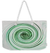 Cool Mint Whip Weekender Tote Bag