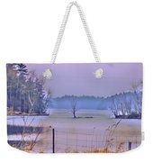 Cool Morning In Vermont Weekender Tote Bag
