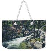 Cool Mountain Stream Weekender Tote Bag