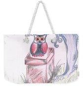 Cool Owl Weekender Tote Bag