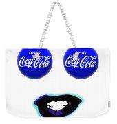 Cool Smile Weekender Tote Bag