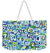 Cool Squares And Shapes Weekender Tote Bag