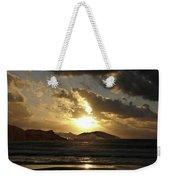 Cool Sunrise Weekender Tote Bag