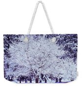 Cool Sunset Essence Of Winter Weekender Tote Bag