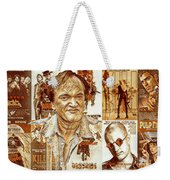 Cool Tarantino Poster Weekender Tote Bag