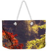 Cool Vermont Autumn Day Weekender Tote Bag