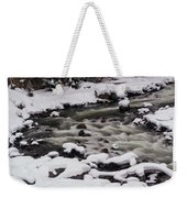Cool Winding River Weekender Tote Bag