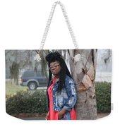 Cool With Braids 5 Weekender Tote Bag