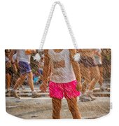Cooling In The Spray Weekender Tote Bag