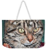 Cooper The Cat Weekender Tote Bag