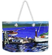 Coos Bay Dockside  Weekender Tote Bag