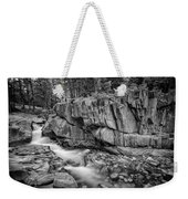 Coos Canyon Black And White Weekender Tote Bag