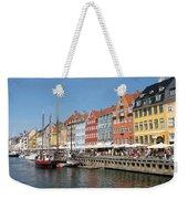 Copenhagen Harbor Weekender Tote Bag