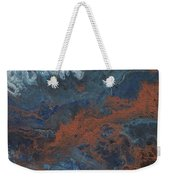 Copper Abstract 2 Weekender Tote Bag