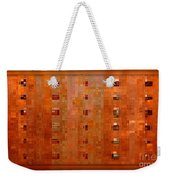 Copper Abstract Weekender Tote Bag