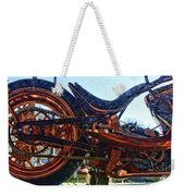 Copper Bike Ny Centennial Statue Of Liberty Ny Weekender Tote Bag