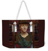 Copper Bust In Rome Weekender Tote Bag