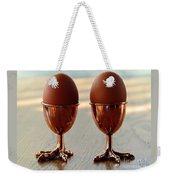 Copper Chicken Feet Egg Cups Weekender Tote Bag