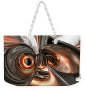 Copper Dreams Abstract Weekender Tote Bag