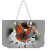 Copper Glow - Butterfly Weekender Tote Bag