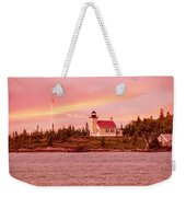 Copper Harbor Lighthouse Weekender Tote Bag