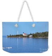 Copper Harbor Lighthouse Weekender Tote Bag