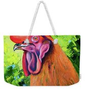 Copper Maran French Rooster Weekender Tote Bag