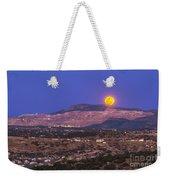 Copper Moon Rising Over The Santa Rita Weekender Tote Bag