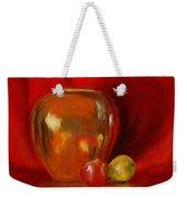 Copper Pot And Fruit Weekender Tote Bag