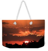 Copper Sunset Weekender Tote Bag