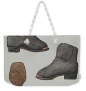 Copper-toed Child's Shoe Weekender Tote Bag