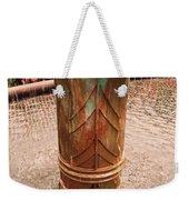 Copper Water Fountain Weekender Tote Bag