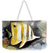 Copperband Butterflyfish  Weekender Tote Bag