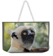 Coquerel's Sifaka Lemur Weekender Tote Bag