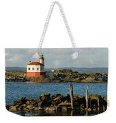 Coquille River Lighthouse Bandon Oregon Weekender Tote Bag