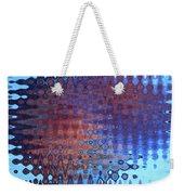 Coral Abstract Weekender Tote Bag